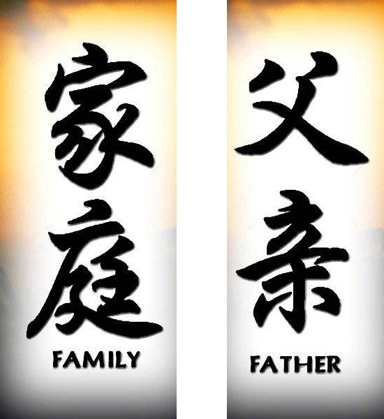 Traditional chinese symbol for family pictures gallery