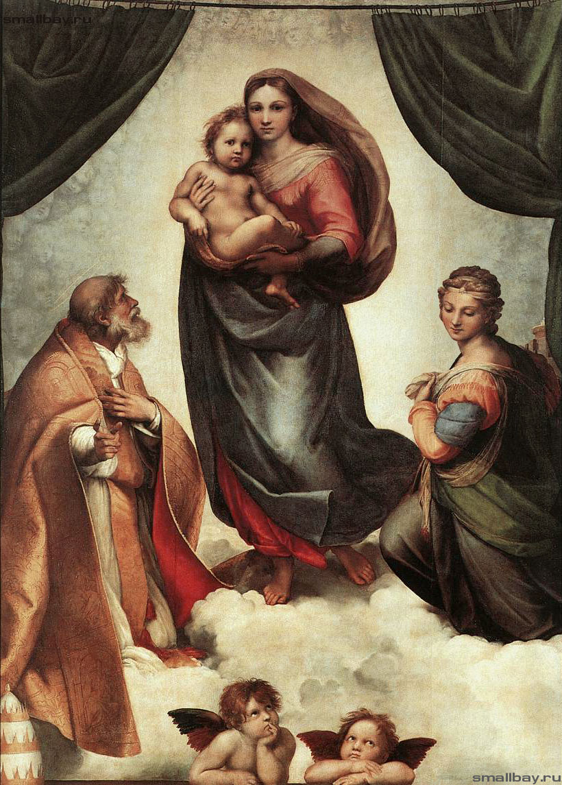 a review of madonna and child with saint francis and dominic and angels a painting by giulio cesare  Was prepared by el greco the painting for the high altar  st dominic, mary magdalen  about 25 originals representing st francis survive and.