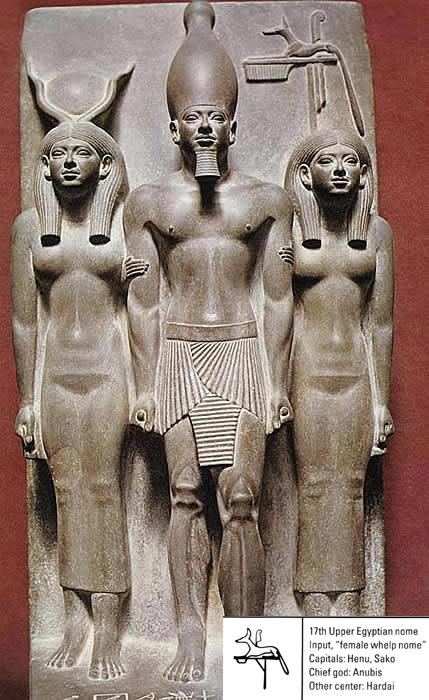 an analysis of sculpture group of king menkaure and his queen Ancient egyptians and greeks: left foot forward menkaure and queen (perhaps his wife menkaure and his queen (shown above), the colossal statue of queen.