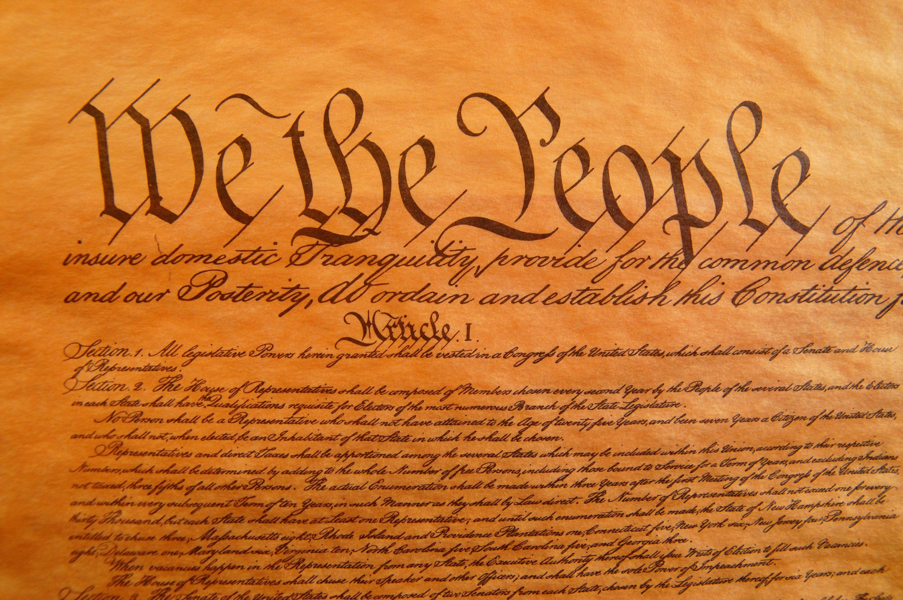 a paper on the united states constitution as a living document In the late 18th century, the united states constitution was designed as a foundation to build a stable governing structure for the 13 states.