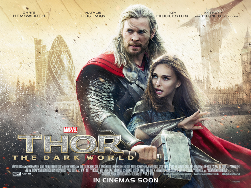 Thor movie poster shop