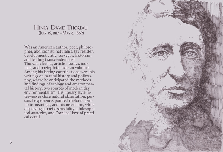 biography of henry david thoreau an american author poet philosopher abolitionist naturalist tax res