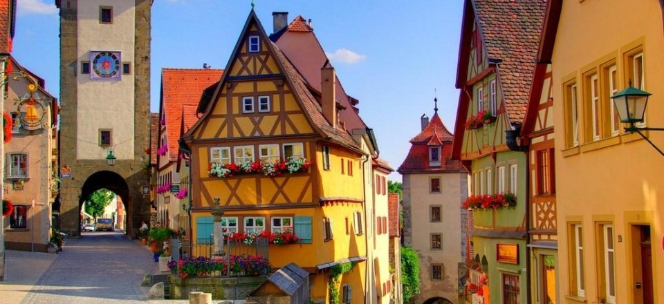 Rothenburg germany wedding
